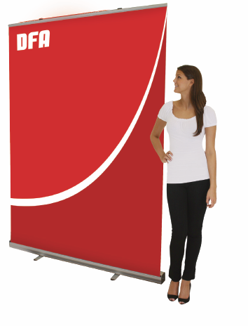 Example of retractable banner