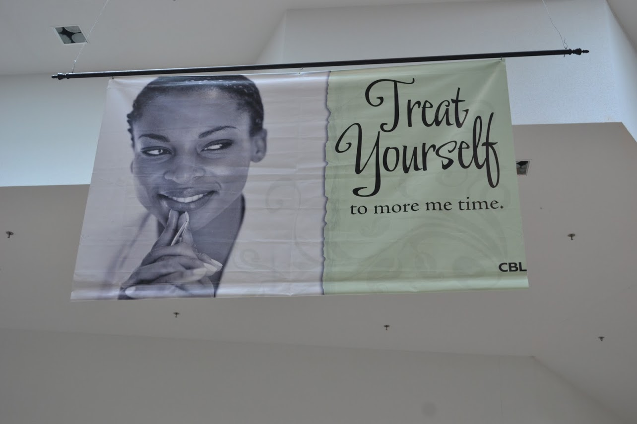 An example of hanging banner