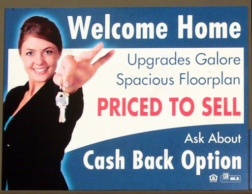 Example of Real Estate Sign