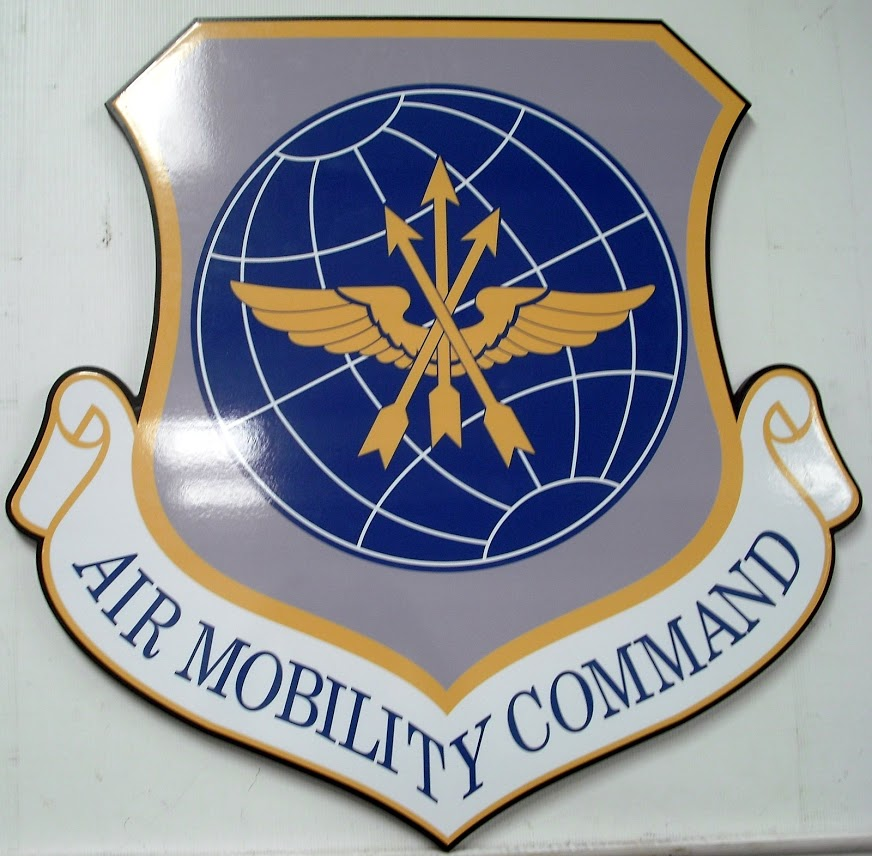 Example of custom cut PVC emblem sign
